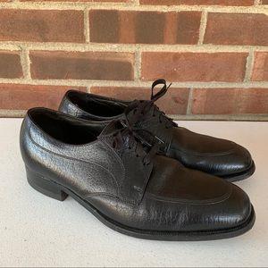 Florsheim black leather Oxford shoes men's US 9.5